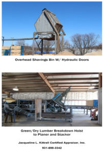 Complete hardwood operation for sale in Wisconsin